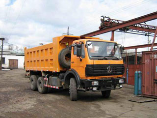 Самосвалы NORTH-BENZ, Самосвал 6x6 360 л.с.